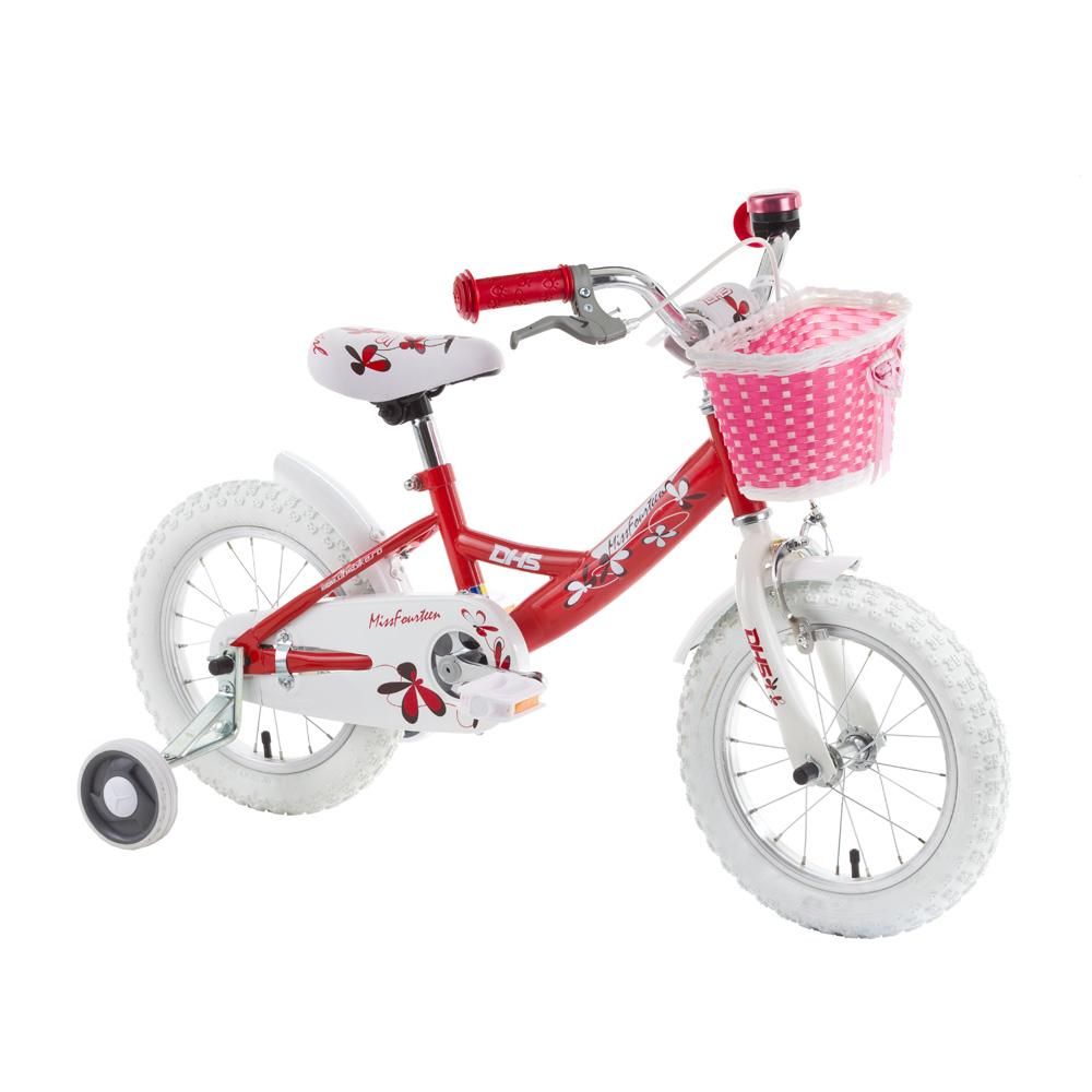 "Detský bicykel DHS Miss Fourteen 1404 14"" - model 2015"