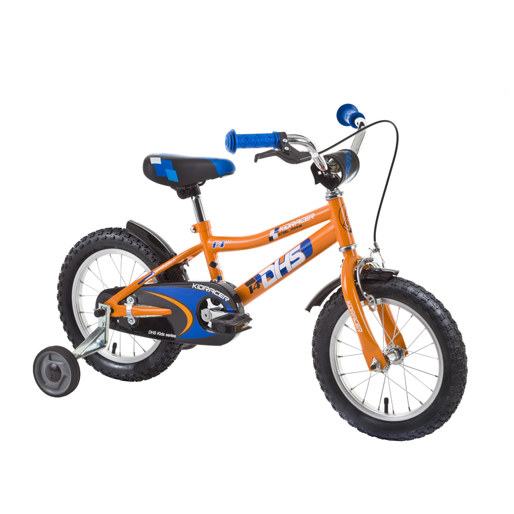Detský bicykel DHS Kid Racer 1403 14