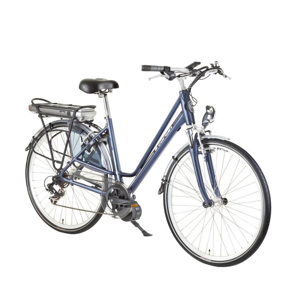 "Mestský elektrobicykel Corwin Sydney 28324 tmavo modrá - 19"" - Záruka 10 rokov"