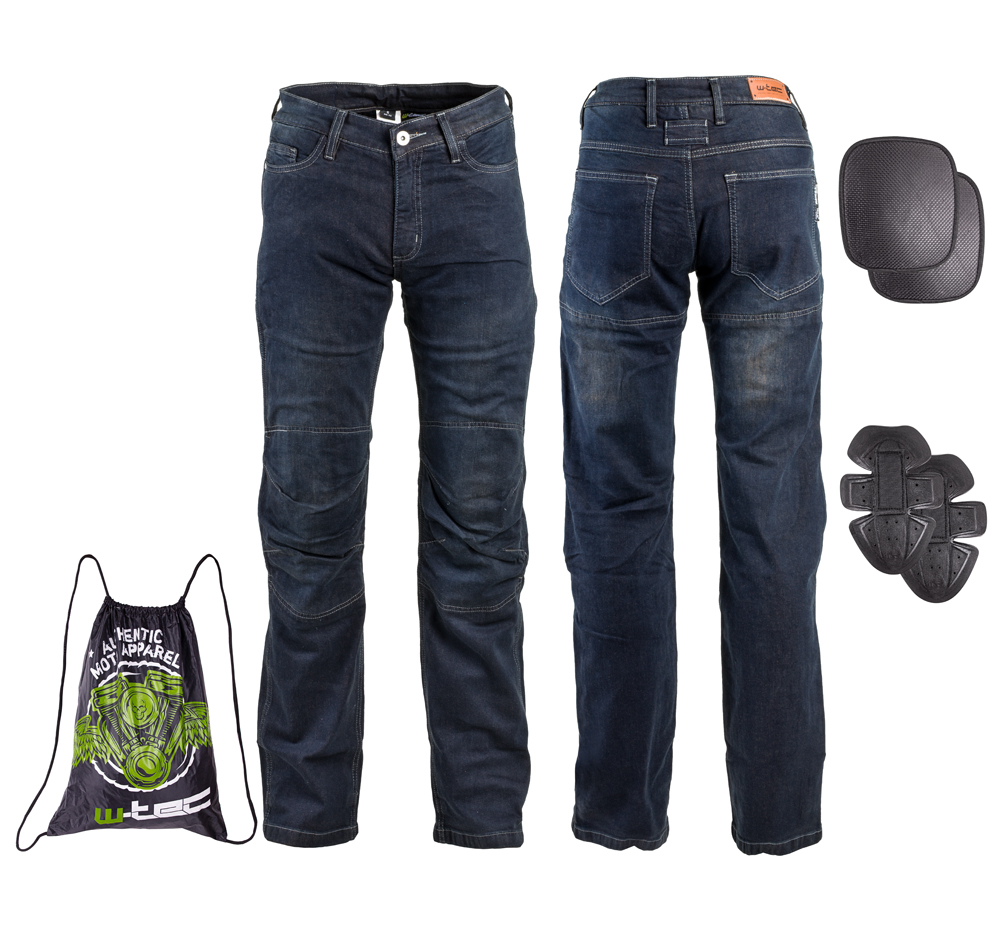 Pánske moto jeansy W-TEC Pawted
