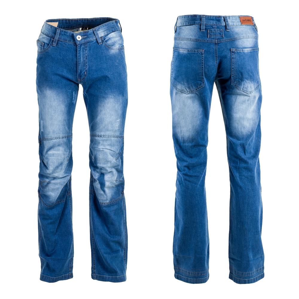 Pánske moto jeansy W-TEC Shiquet