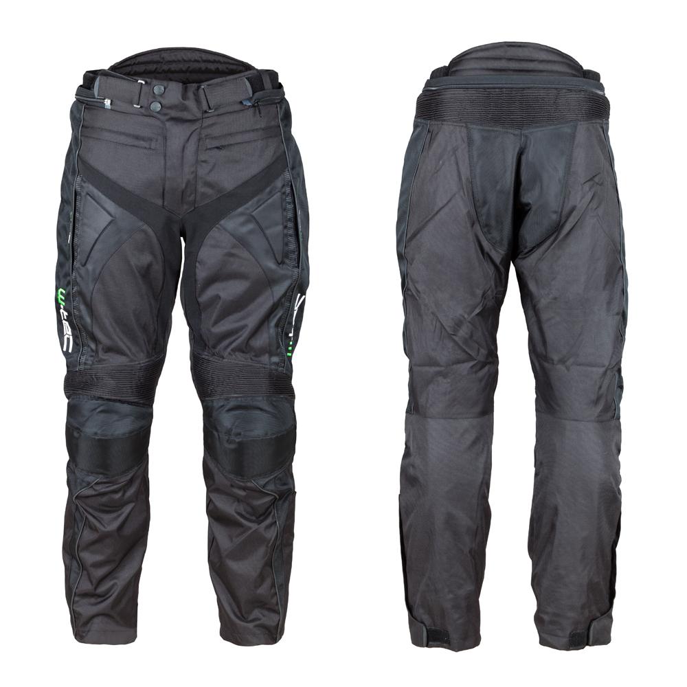 Moto nohavice W-TEC Anubis NEW čierna - XL