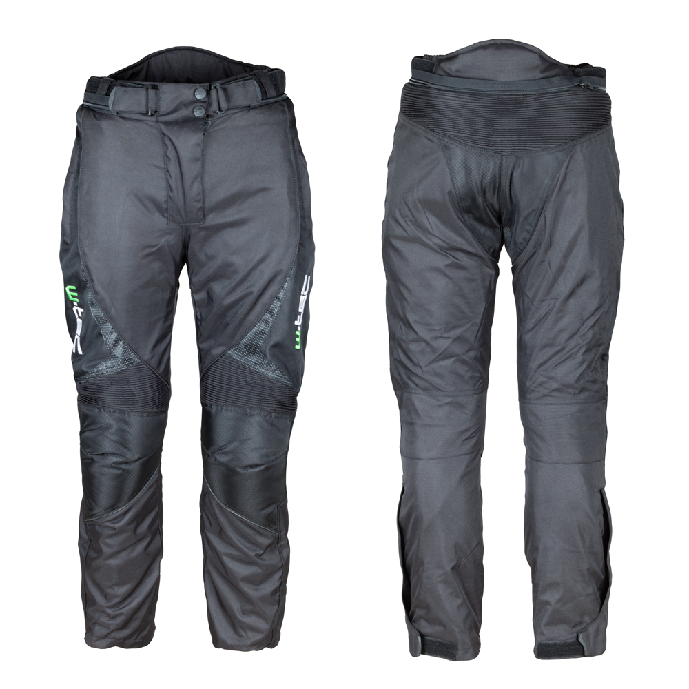 Unisex moto nohavice W-TEC Mihos NEW čierna - XL