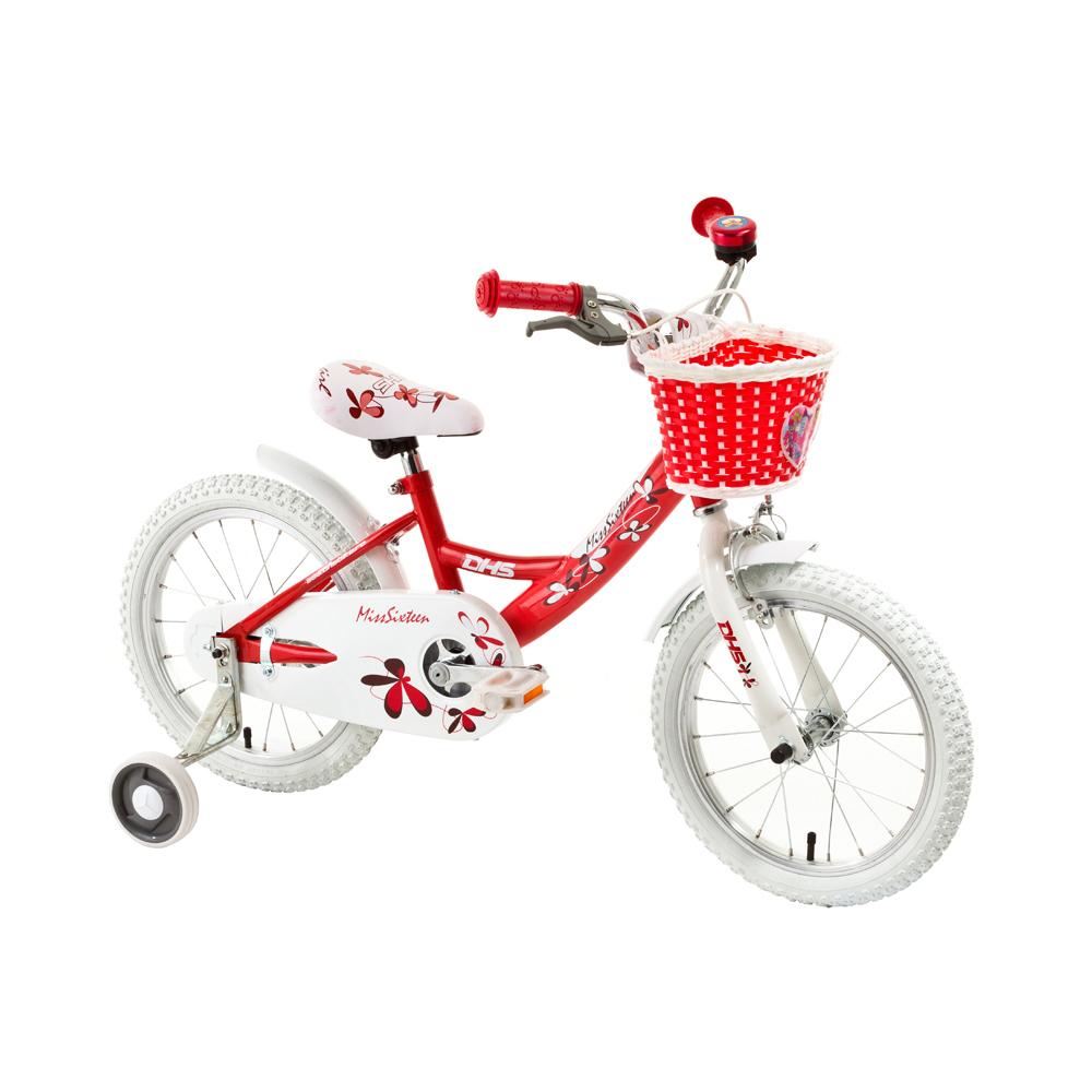 "Detský bicykel DHS Miss Sixteen 1604 16"" - model 2015"