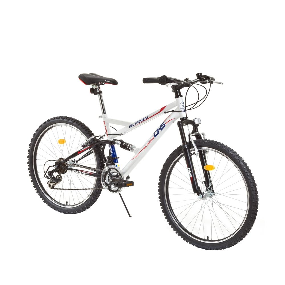 Juniorský celoodpružený bicykel DHS Blazer 2445 24
