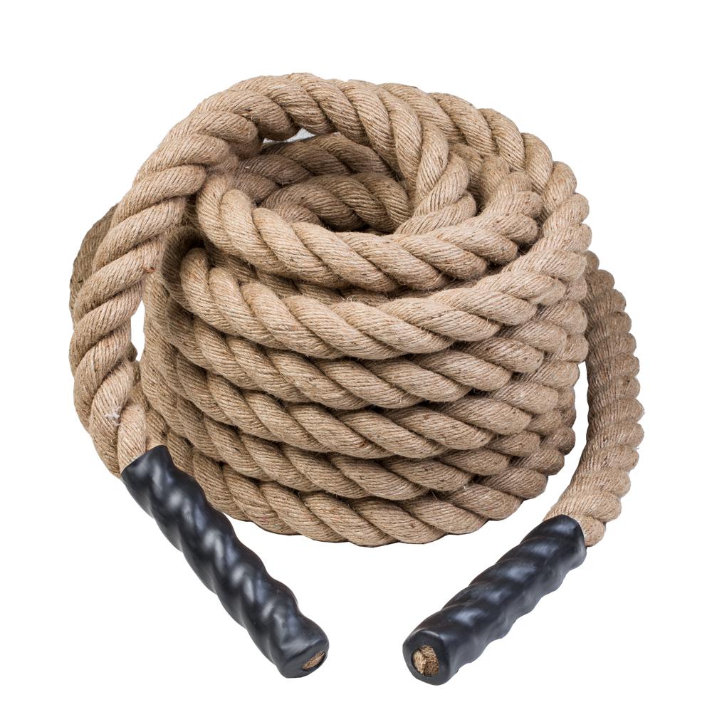 Posilňovacie lano inSPORTline WaveRope Base 5 x 1500 cm