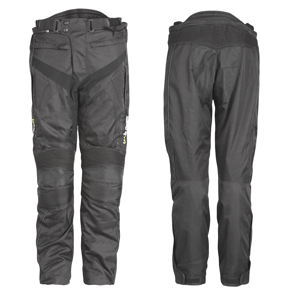 Motocyklové nohavice W-TEC Anubis čierna - XL
