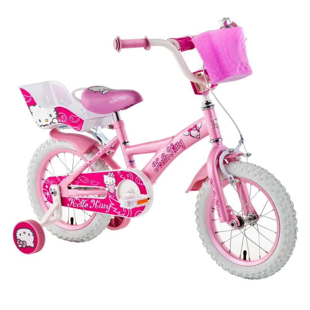 "Detský bicykel HELLO KITTY Sweet 14"""