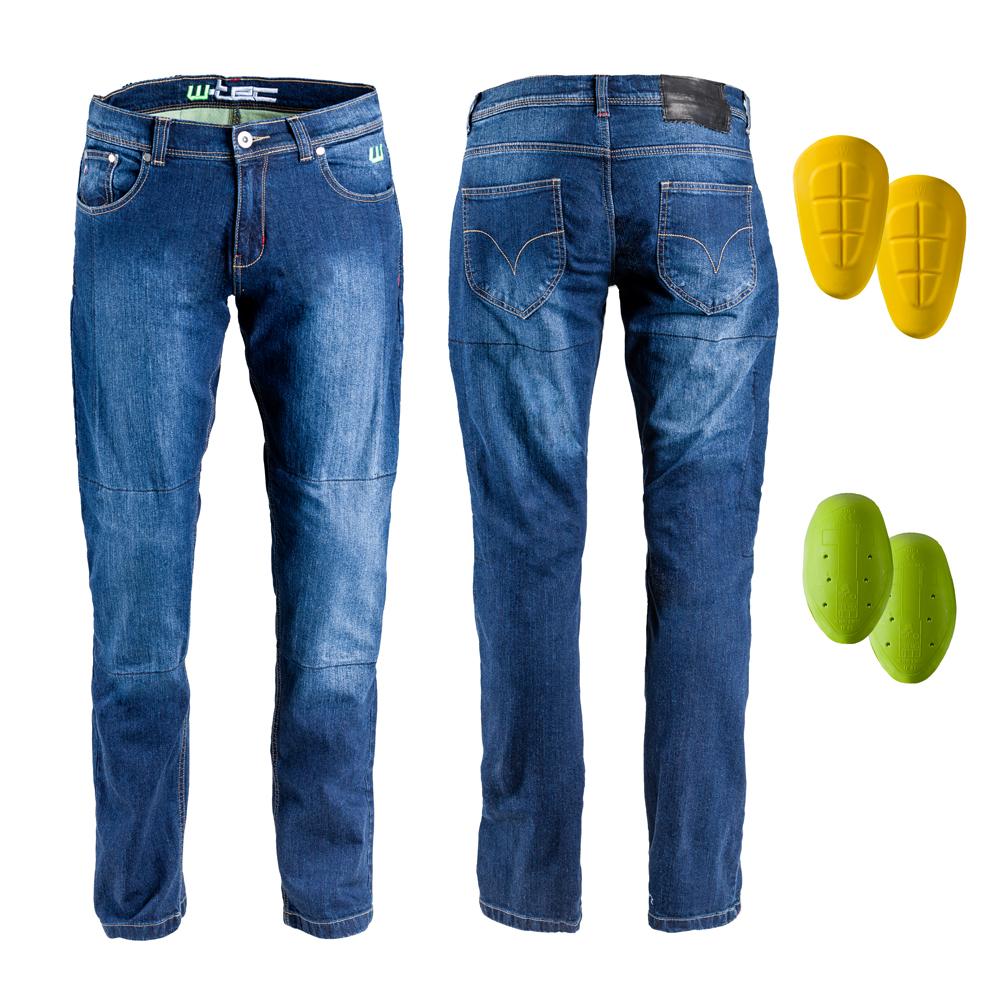 Pánske moto jeansy W-TEC C-2025