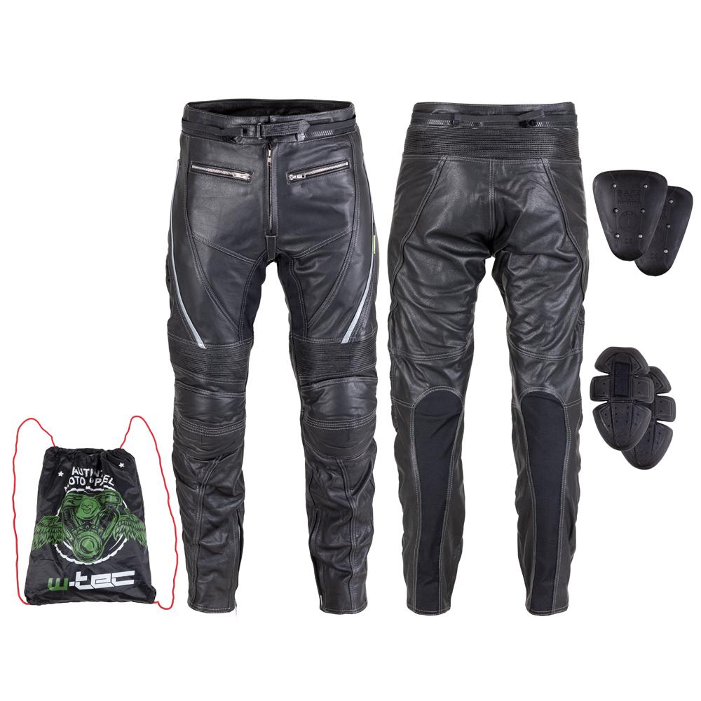 Kožené moto nohavice W-TEC Vilglen