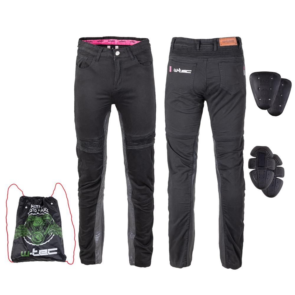 Dámske moto nohavice W-TEC Ragana čierna - L