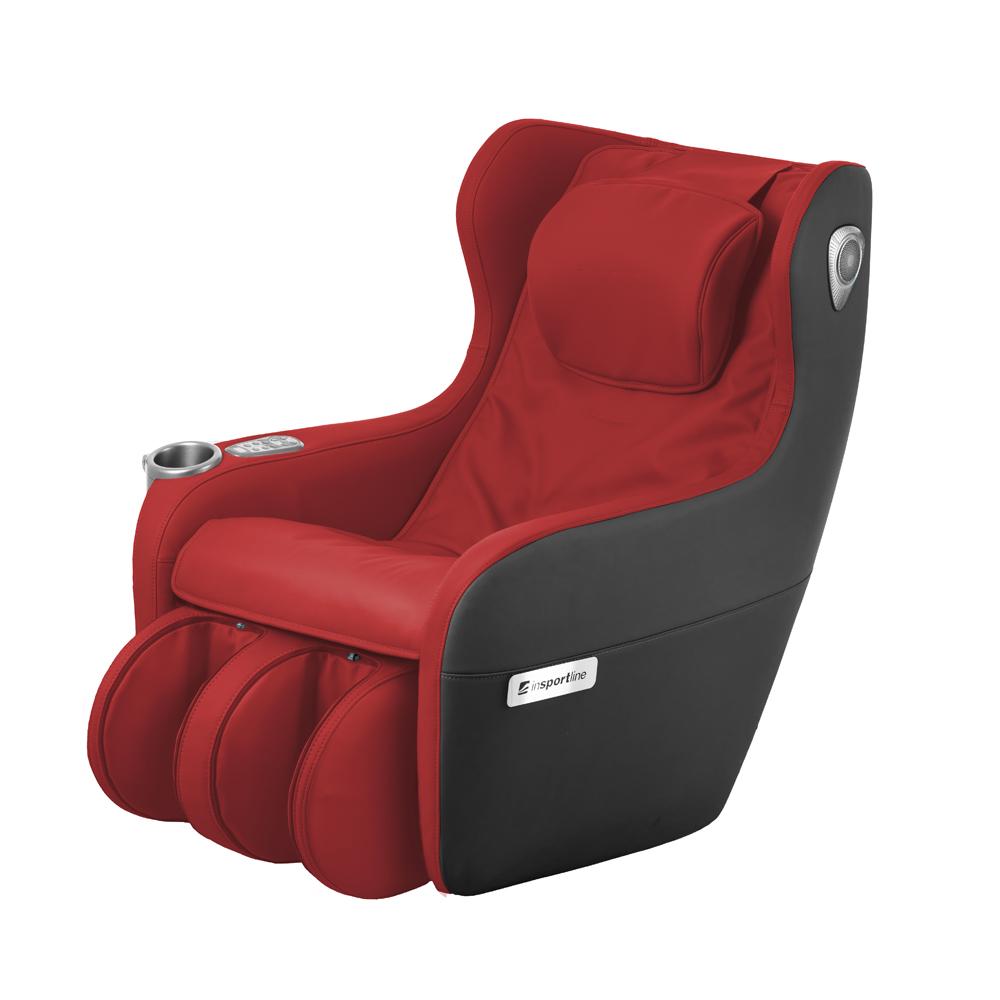Masážne kreslo inSPORTline Scaleta II červeno-čierna - Servis u zákazníka
