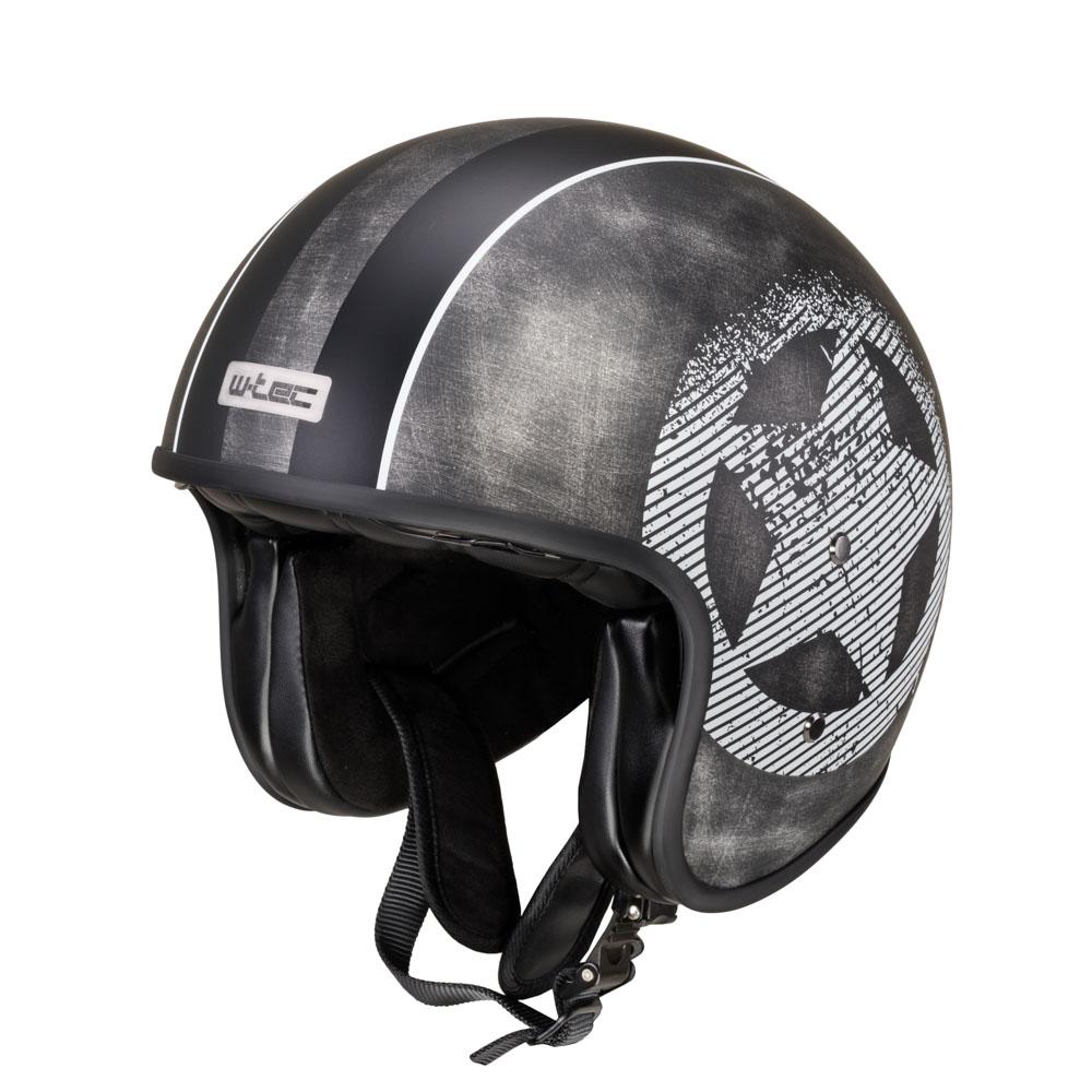 Moto prilba W-TEC Angeric Grey Star