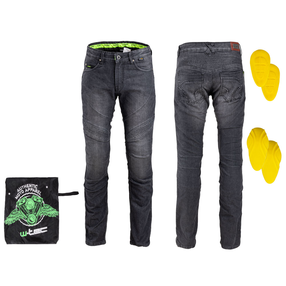 Pánske moto jeansy W-TEC Oliver