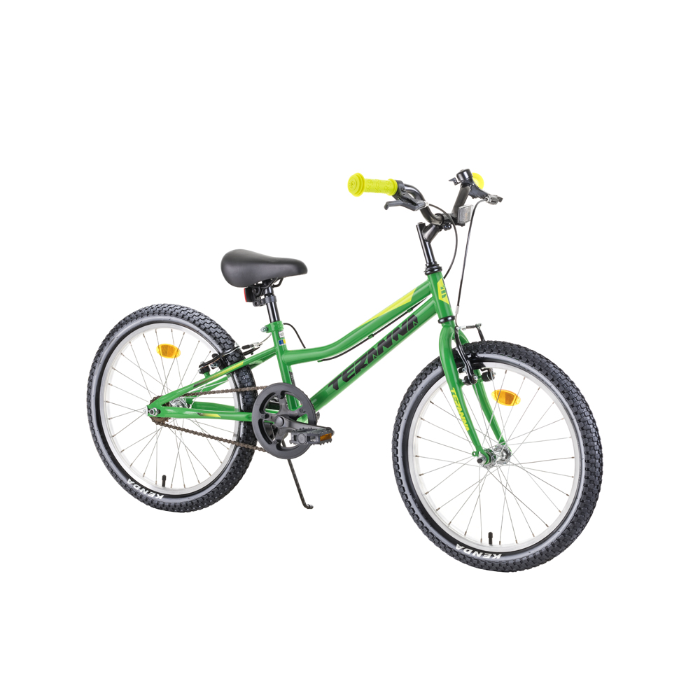 """Detský bicykel DHS Teranna 2003 20"""" 4.0 Green - Záruka 10 rokov"""