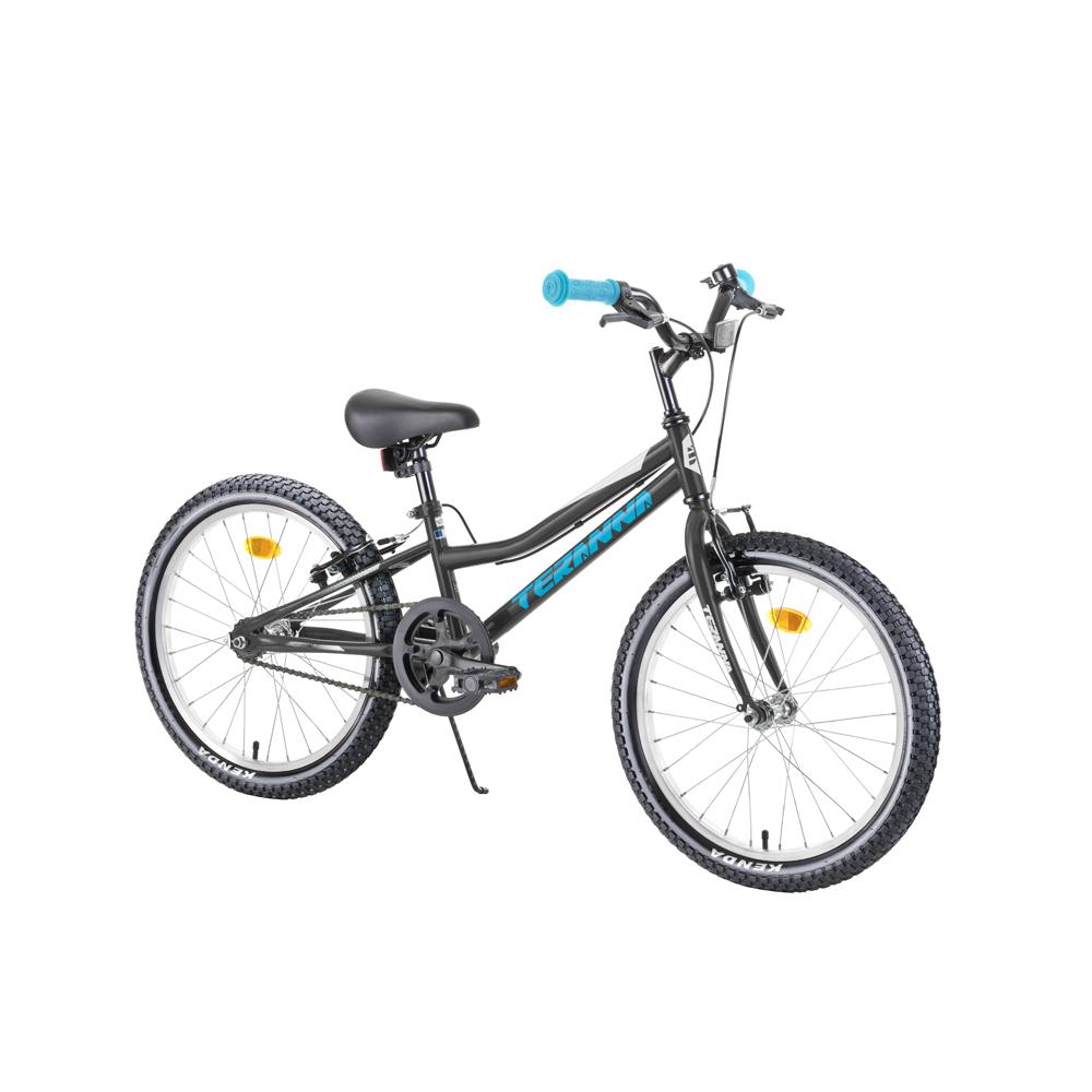 """Detský bicykel DHS Teranna 2003 20"""" - model 2019 Black - Záruka 10 rokov"""