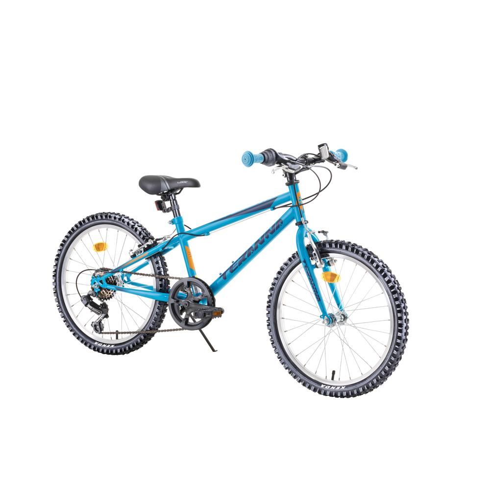 """Detský bicykel DHS Teranna 2021 20"""" 4.0 blue - Záruka 10 rokov"""