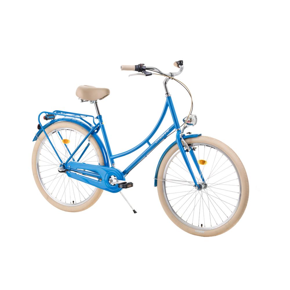 "Mestský bicykel DHS Citadinne 2636 26"" - model 2019 blue - 18"" - Záruka 10 rokov"