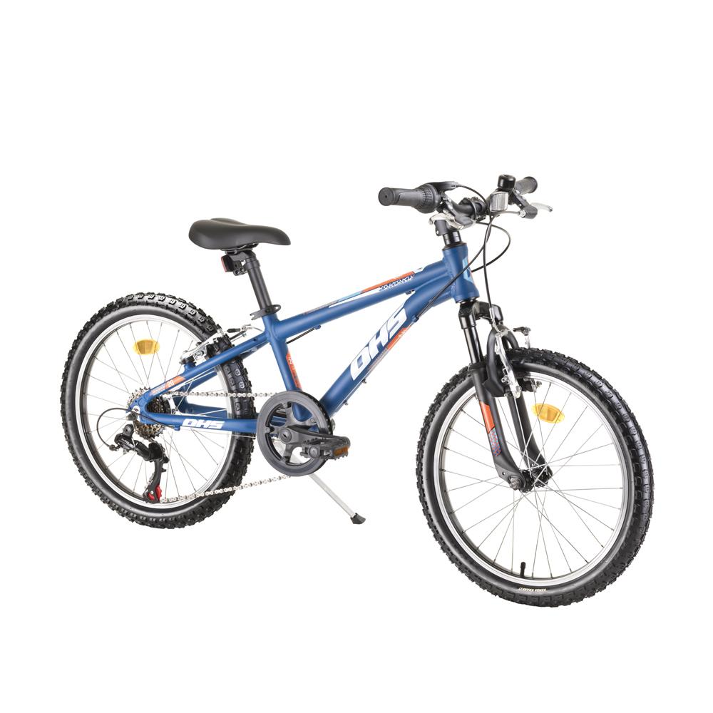 """Detský bicykel DHS Teranna 2023 20"""" - model 2021 blue - Záruka 10 rokov"""