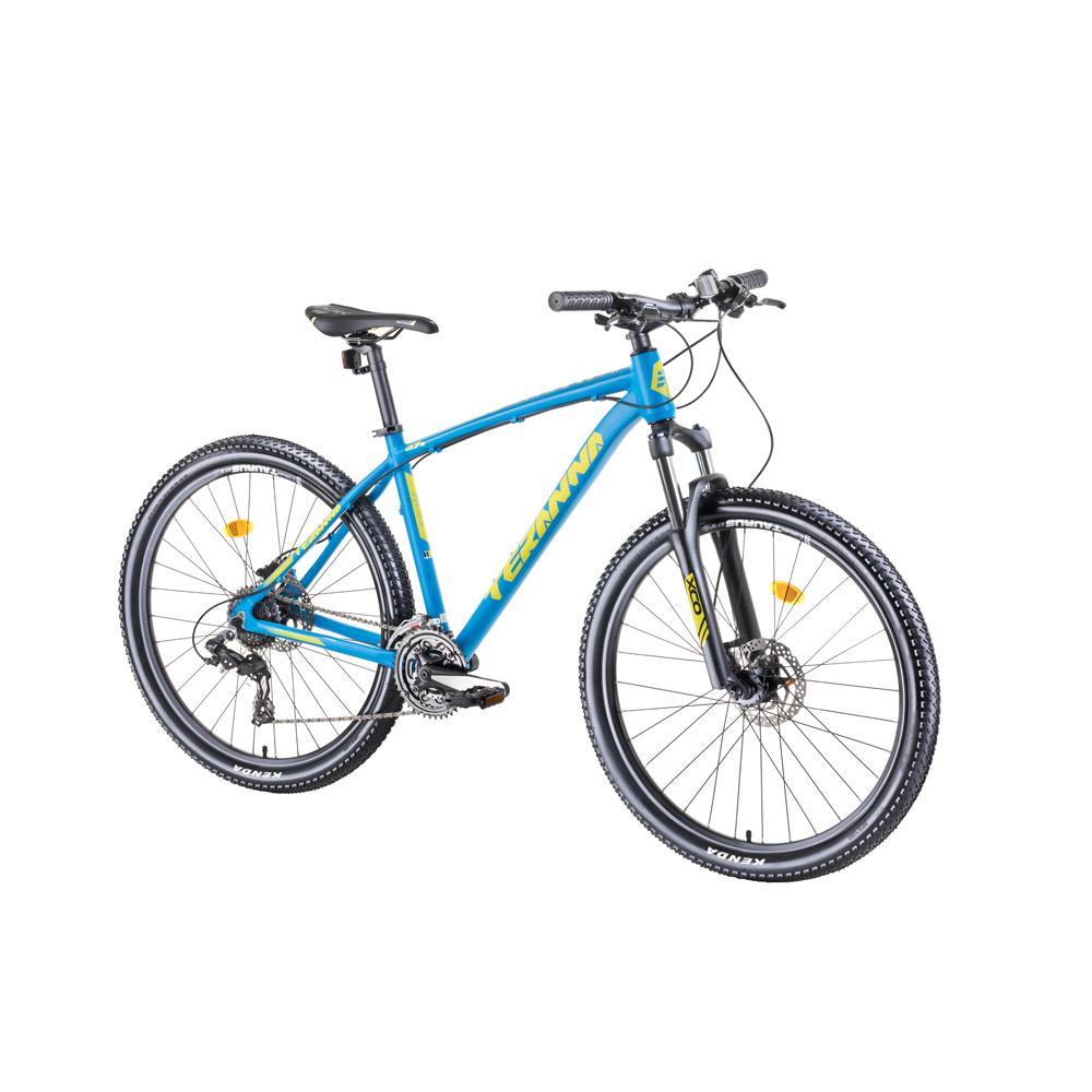 """Horský bicykel DHS Teranna 2727 27,5"""" - model 2019 blue - 18"""" - Záruka 10 rokov"""