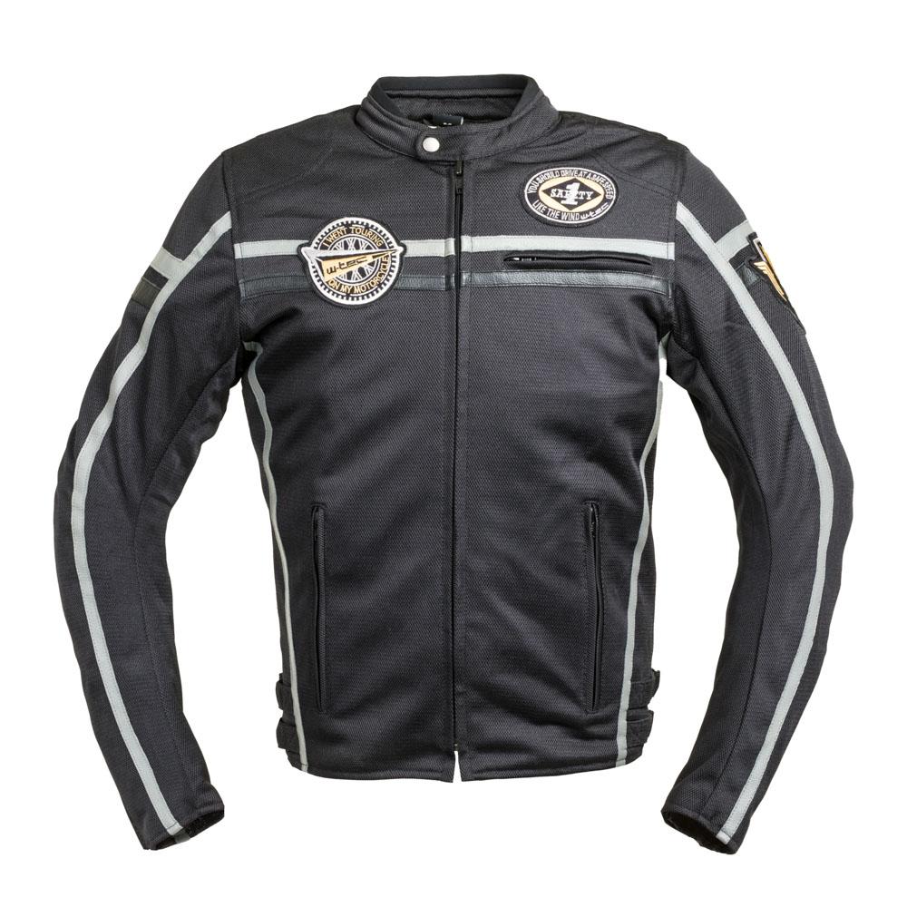 Moto bunda W-TEC Bellvitage Black