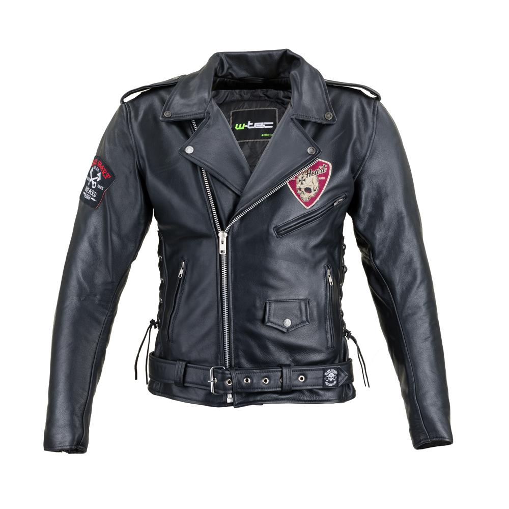 Kožená moto bunda W-TEC Black Heart Perfectis