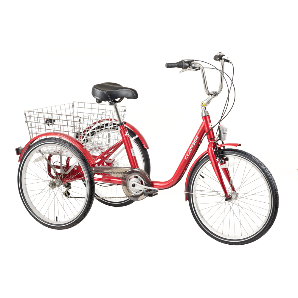 """Trojkolesový bicykel Clamber Boscaro 24"""" - Záruka 10 rokov + Montáž zadarmo"""