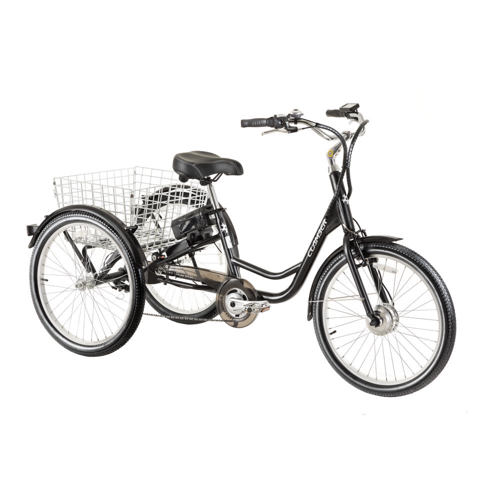 Elektrický trojkolesový bicykel Clamber Crefft 24 - Záruka 10 rokov + Montáž zadarmo