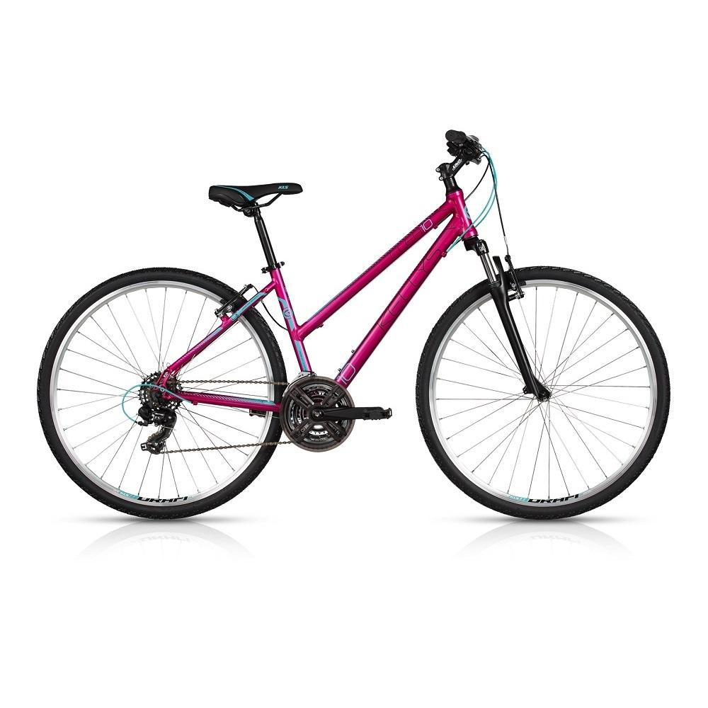 "Dámsky crossový bicykel KELLYS CLEA 10 28"" - model 2017 Violet - 480 mm (19"") - Záruka 10 rokov"