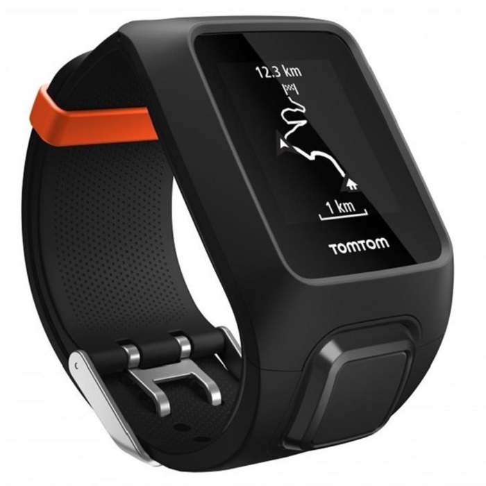 GPS hodinky TomTom Adventurer Cardio + Music čierna