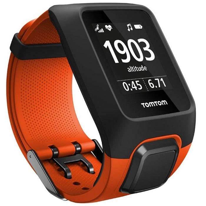 GPS hodinky TomTom Adventurer Cardio + Music oranžová