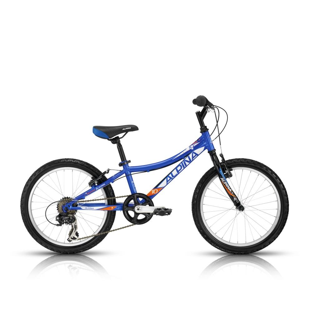 """Detský bicykel ALPINA Bestar 10 20"""" - model 2016 255 mm (10"""")"""