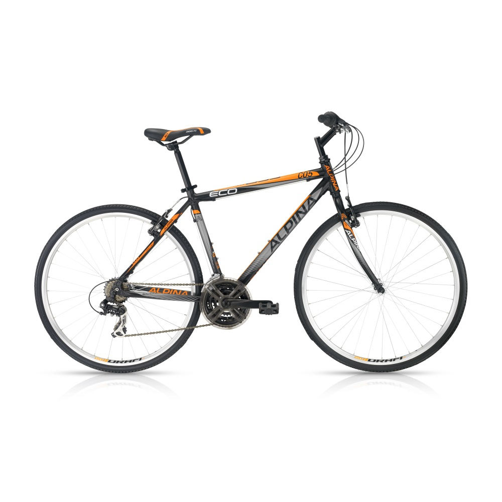 Crossový bicykel ALPINA ECO C05 dark-orange - model 2016 483 mm (19