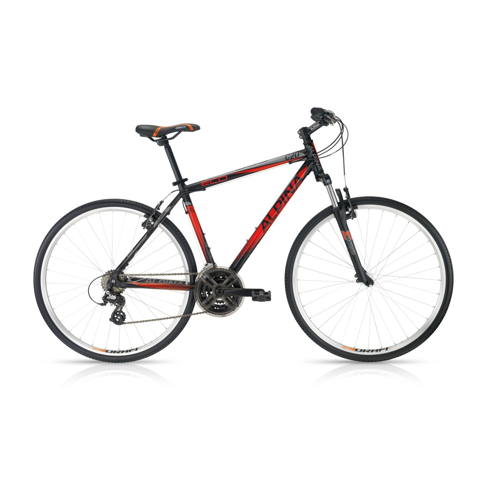 Crossový bicykel ALPINA ECO C20 dark red - model 2016 483 mm (19