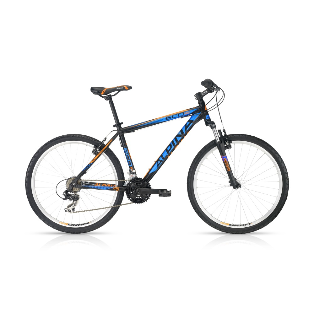 Horský bicykel ALPINA ECO M10 blue-orange 26