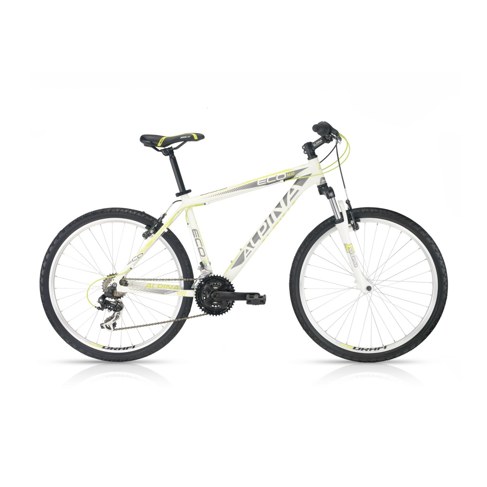 Horský bicykel ALPINA ECO M10 white-lime 26