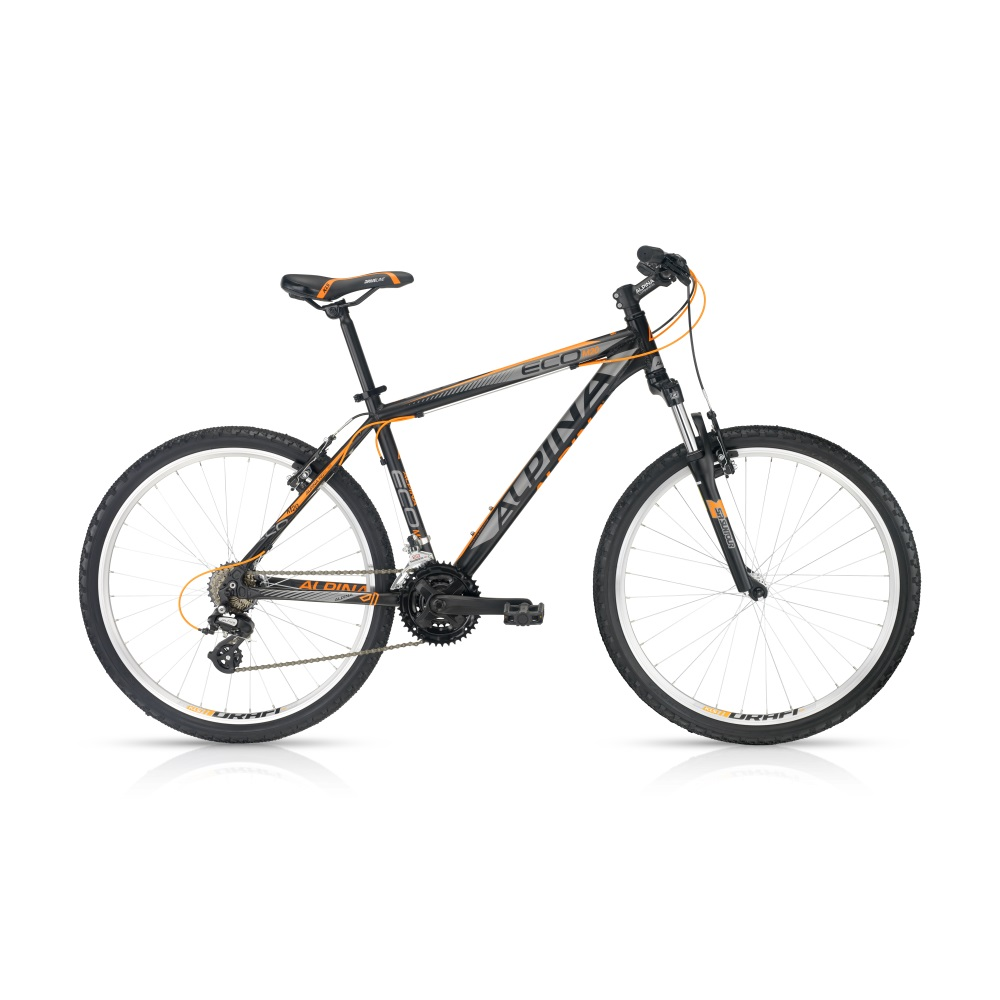 Horský bicykel ALPINA ECO M20 dark-orange 26