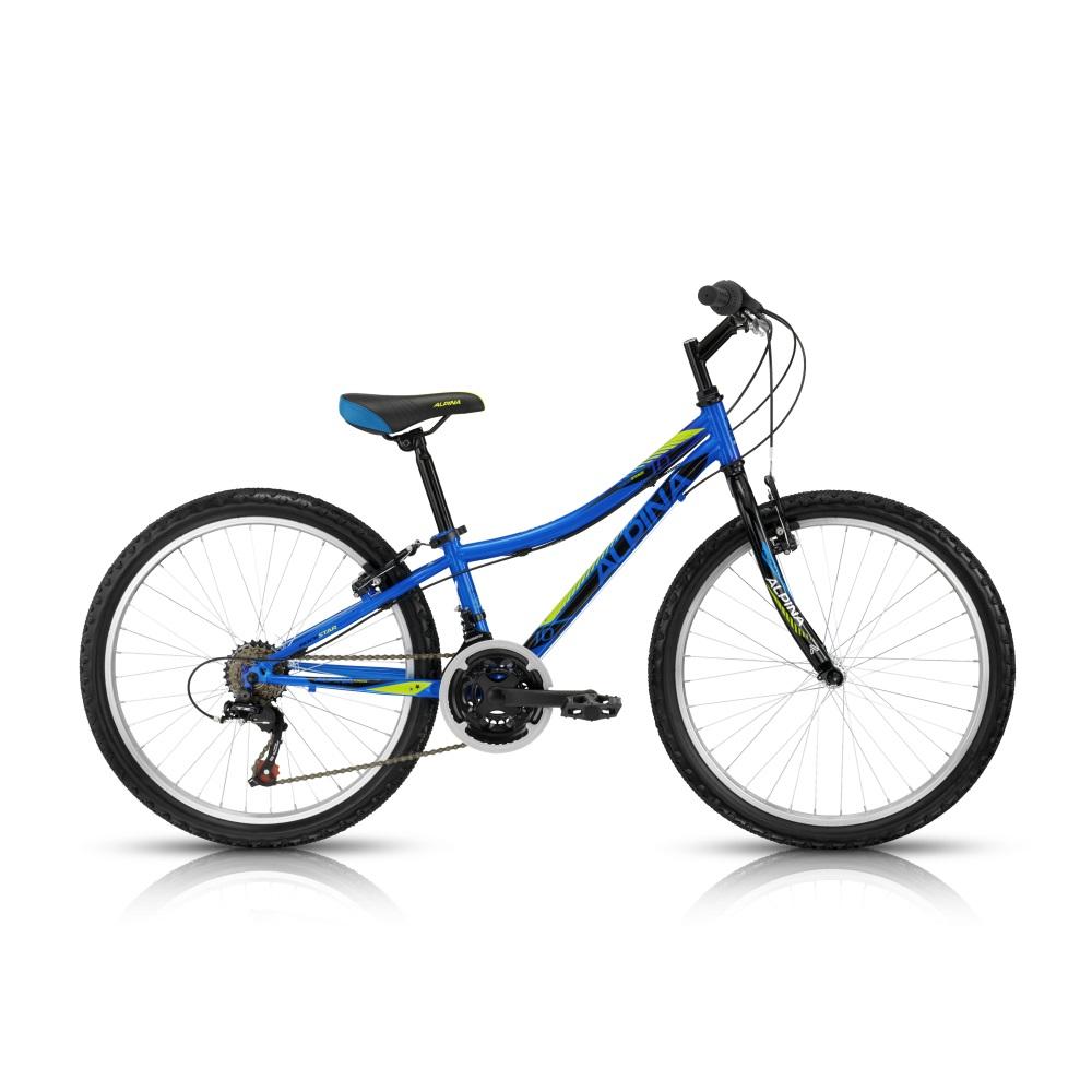 "Juniorský bicykel ALPINA Rockstar 10 24"" - model 2016 280 mm (11"")"