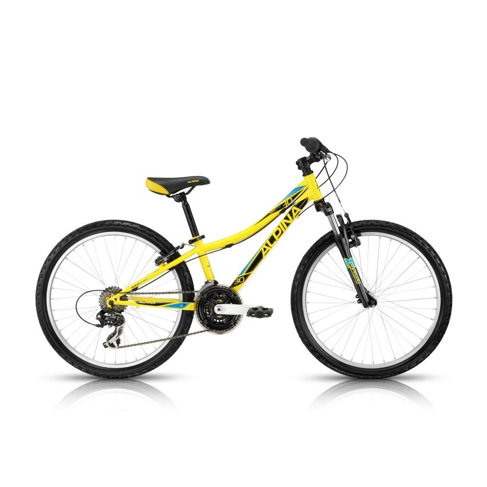 "Juniorský bicykel ALPINA Rockstar 30 24""- model 2016 280 mm (11"")"