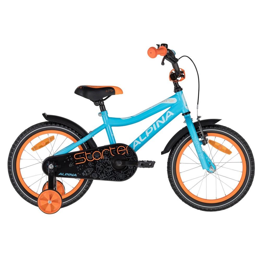 Detský bicykel ALPINA Starter 16
