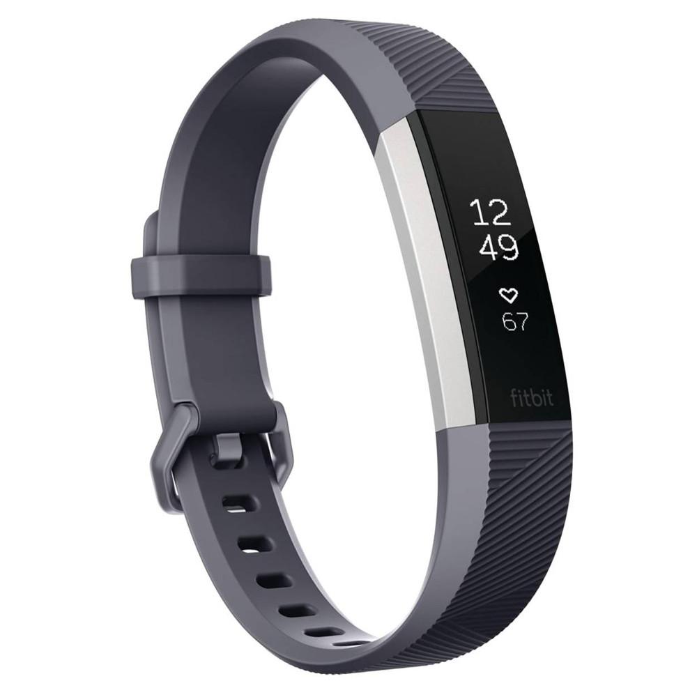 Fitness náramok Fitbit Alta HR Blue Gray S