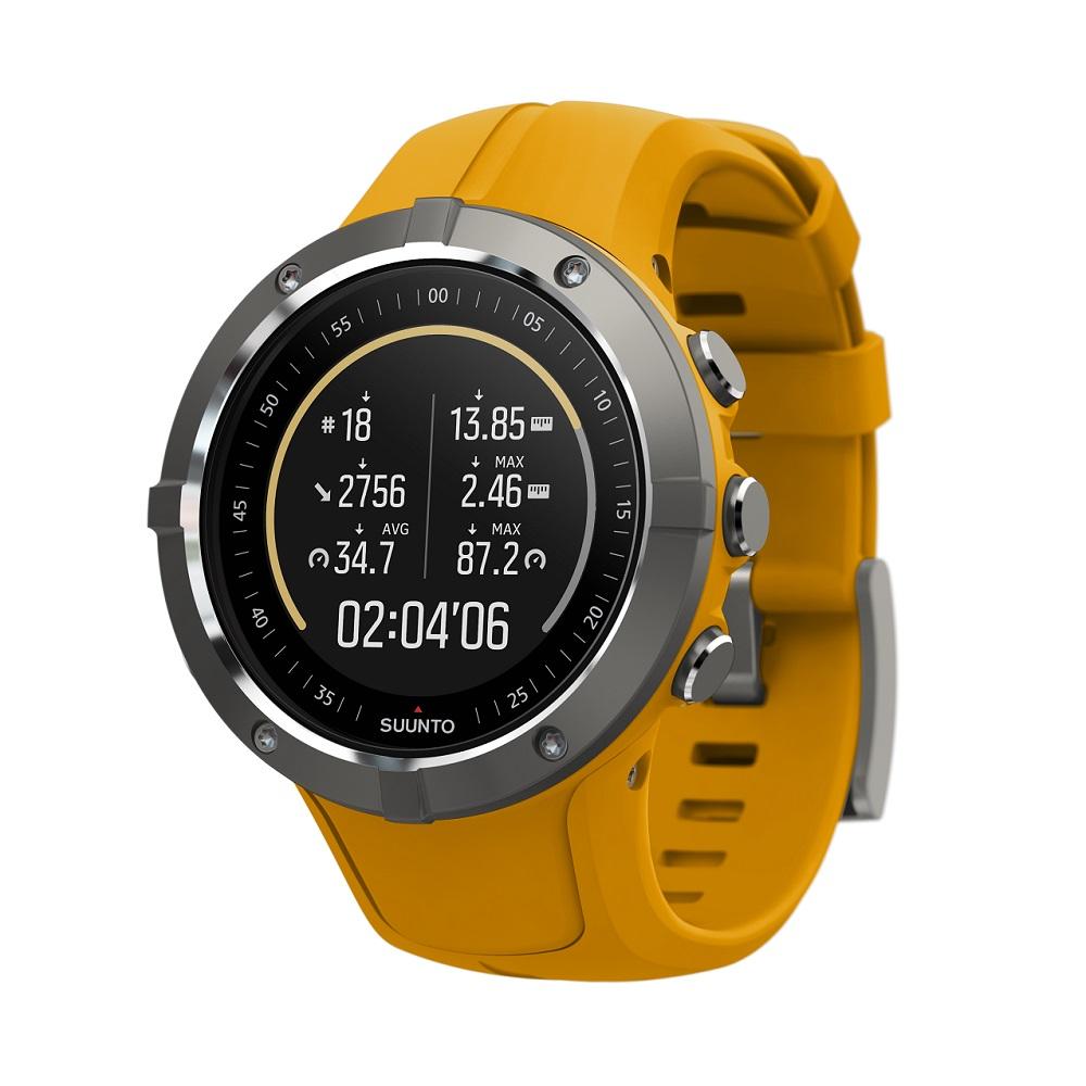 Športové hodinky SUUNTO Spartan Trainer Wrist HR Amber