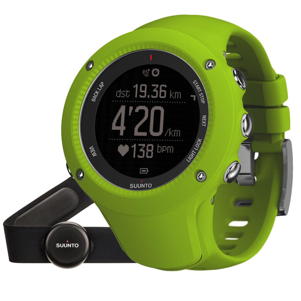 Outdoorový prístroj Suunto Ambit3 Run (HR) limetková