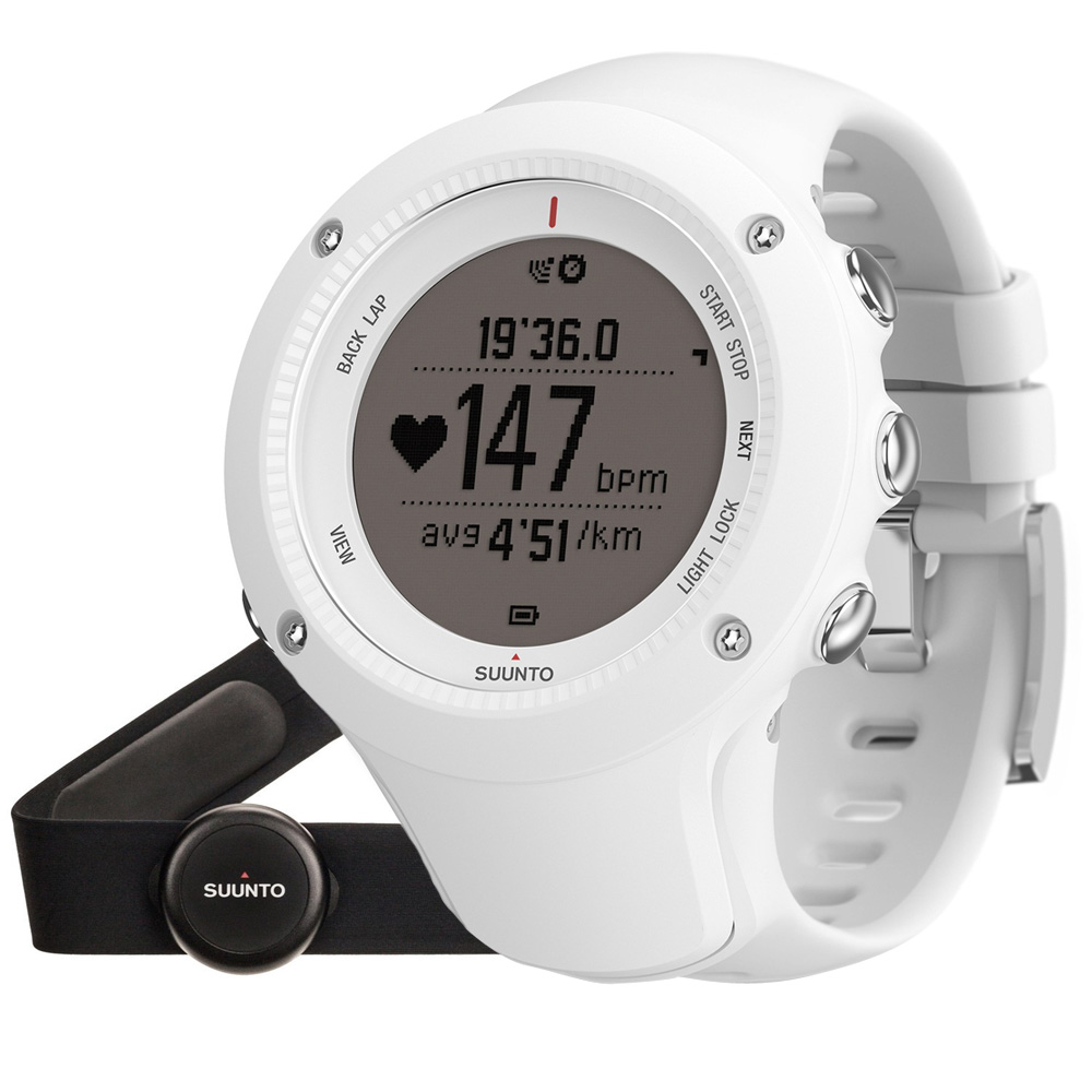 Outdoorový prístroj Suunto Ambit3 Run (HR) biela