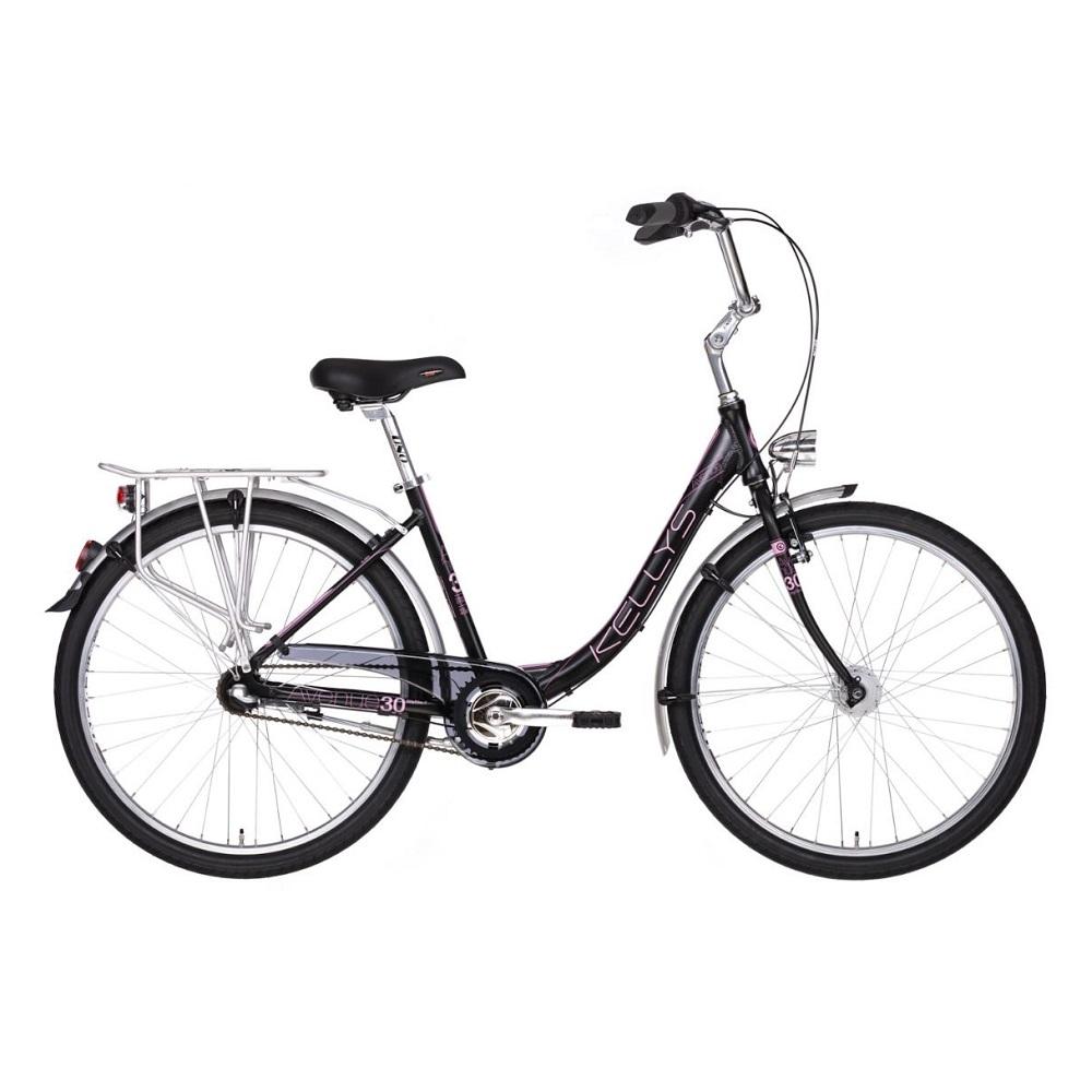 "Dámsky mestský bicykel KELLYS AVENUE 30 26"" - model 2019 - Záruka 10 rokov"