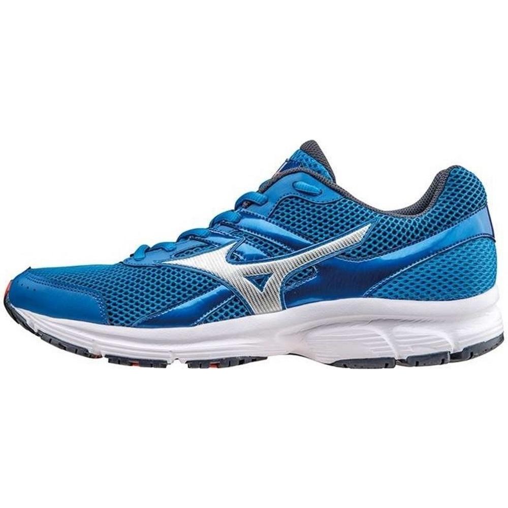 Pánske bežecké topánky MIZUNO Spark Blue/Silver - 44,5