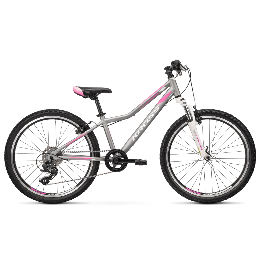 Juniorský dievčenský bicykel Kross LEA JR 2.0 24