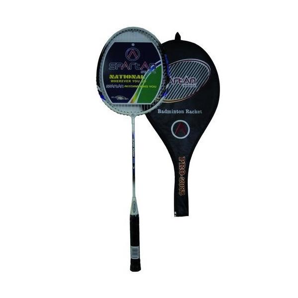 Badmintonová raketa SPARTAN JIVE modro-biela