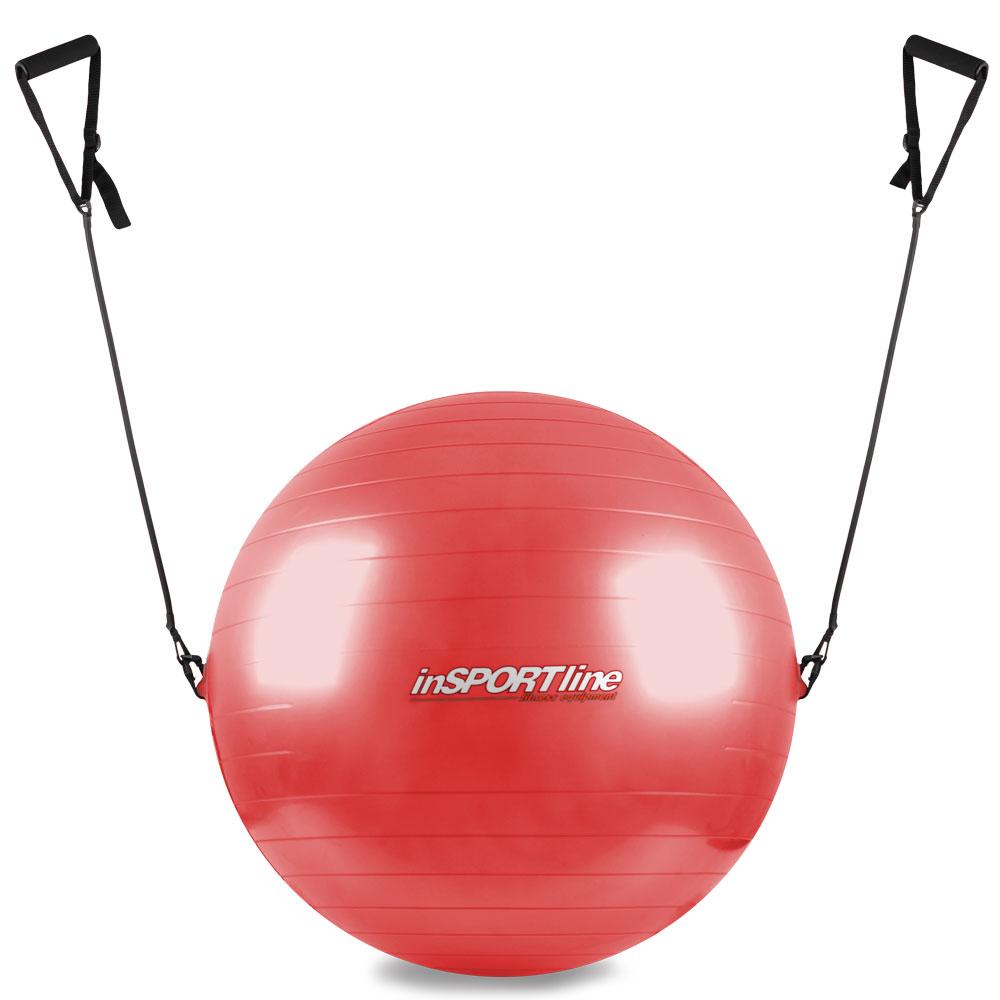 Gymnastická lopta s úchytkami 65 cm