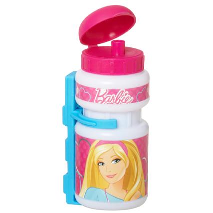 Barbie set - plastová fľaša + plastový držiak